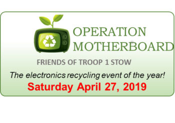 Electronics Recycling – April 27th